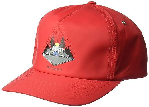 Columbia Hombre 1840061 Gorra de béisbol - Rojo - Talla única ...