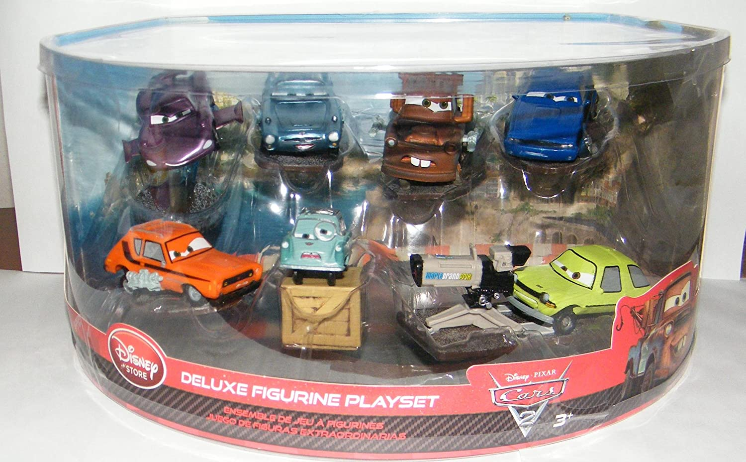 Amazon.com: Disney / Pixar Cars 2 Movie Exclusive Spy Cars All New Neat Figure Toy Set: Everything Else