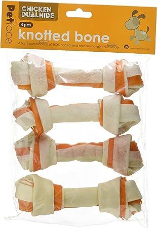 Petface Natural Rawhide Pressed Knuckle Bone 20 cm