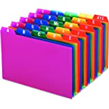 "Oxford Poly Index Card Guides, Alphabetical, A-Z, Assorted Colors, 4"" x 6"" Size, 25 Guides per Set (73154)"