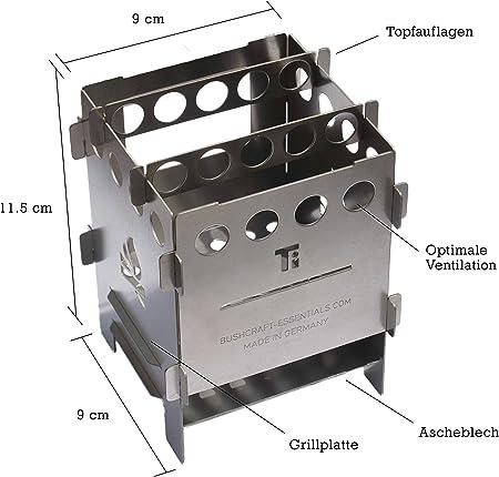 Hornillo Bushbox Titanium