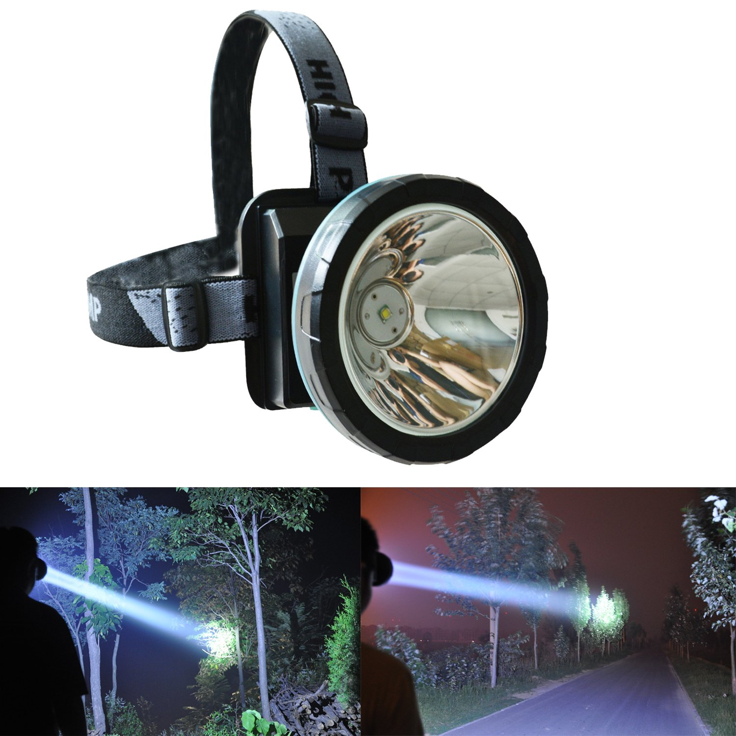 odear lie wang headlamp rechargeable led flashlight for mining