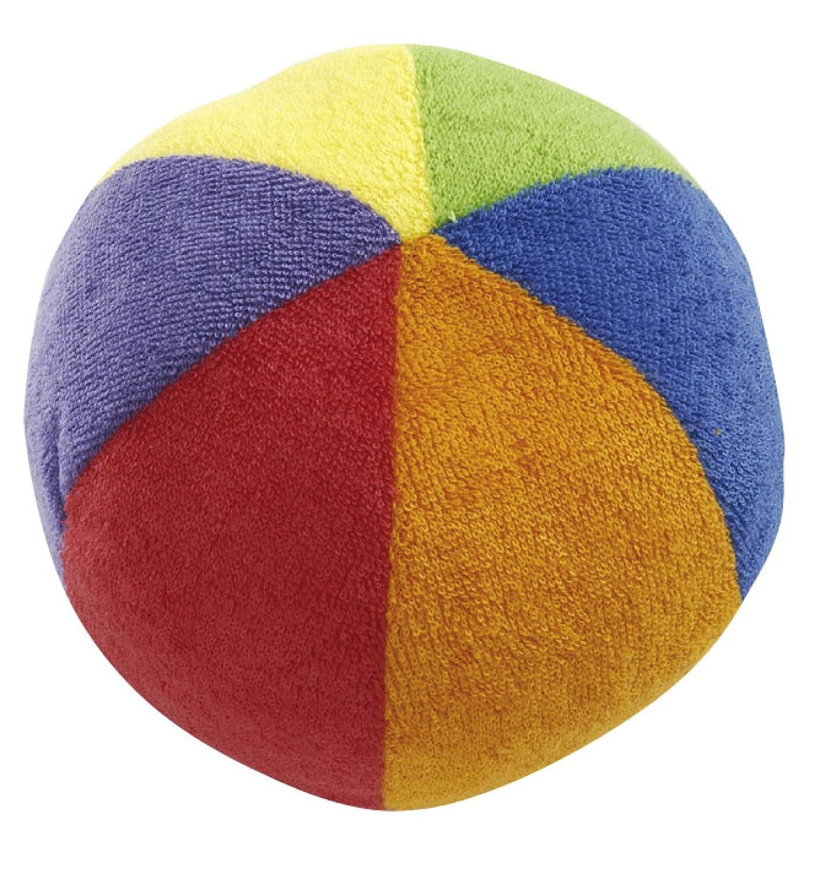 Simba 104011720 - ABC Frotteeball 12cm Simba Dickie Group 2056044 Baby / Rasseln Sonstiges erstes Spielzeug