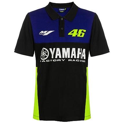 2019 Valentino Rossi VR46 - Polo para Hombre Oficial Yamaha ...