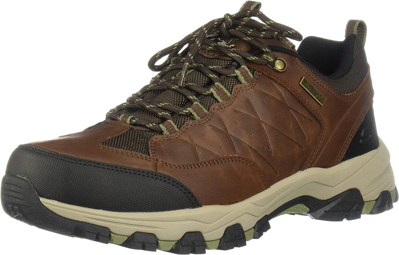 Skechers Men s SELMEN-HELSON Trail Oxford Hiking Shoe