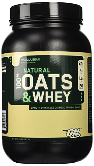 Amazon.com: Optimum Nutrition Natural La Avena y Whey ...