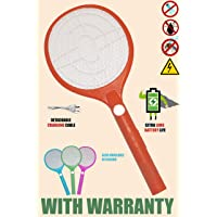 Viola Rocklight Rechargeable Mosquito Racket Bat with Bigger Li Battery USB Charging and LED Light