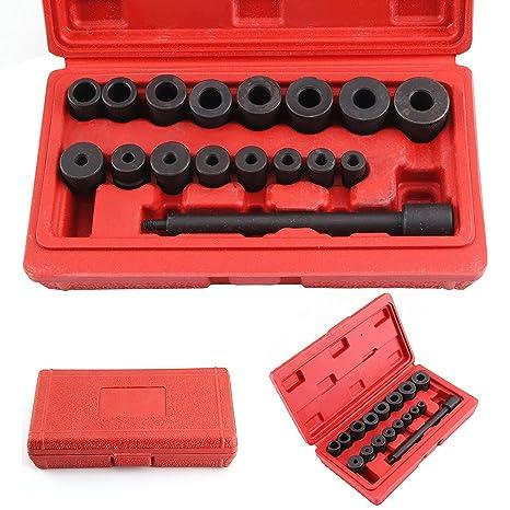MultiWare Universal herramienta para alineación de embrague Kit de herramientas 17 piezas para todos los coches