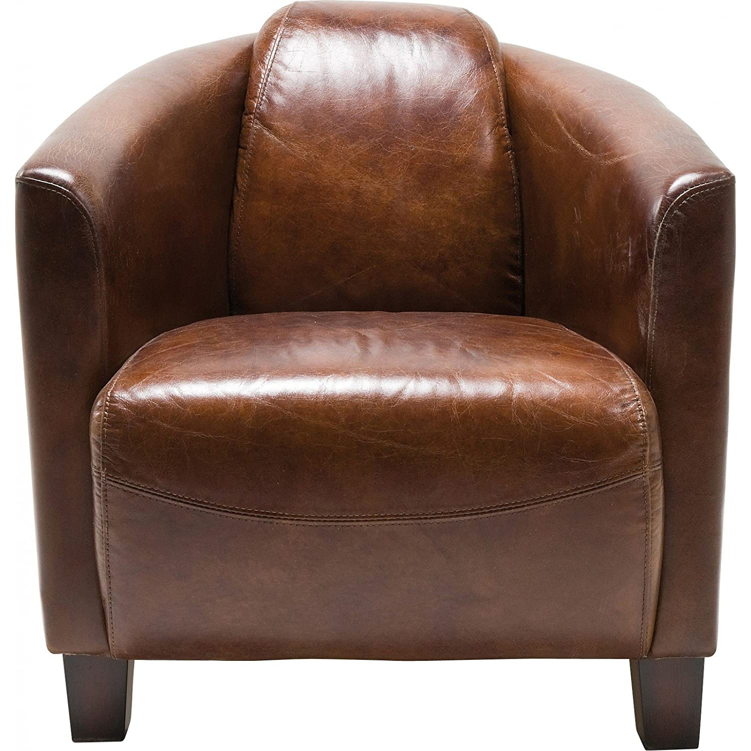 Lounge sessel braun  Amazon.de: Kare 76948 Sessel Cigar Lounge, braun