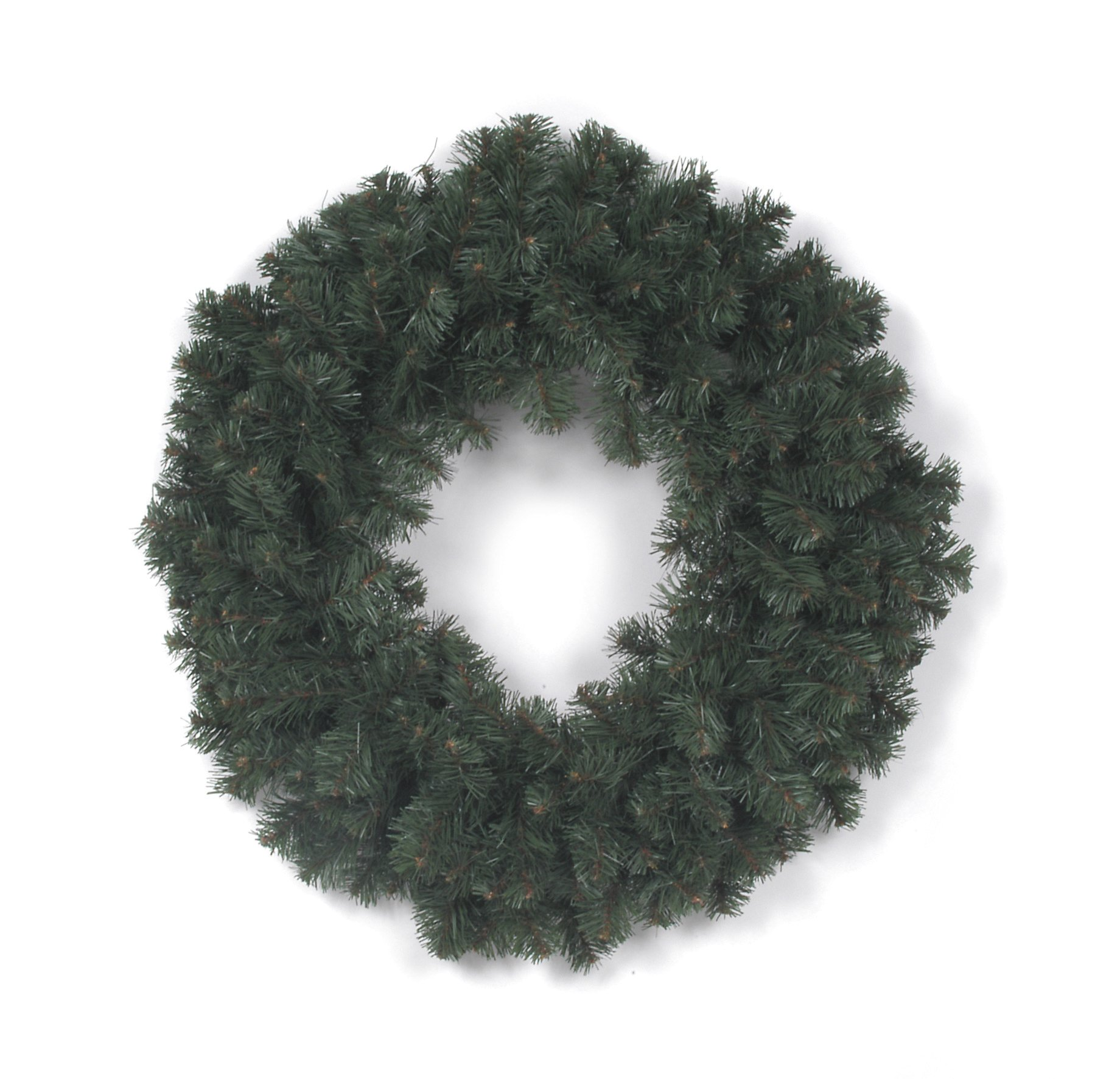 Artificial Colorado Pine Christmas Wreath - 200 tips - 24 inches (1 pack)