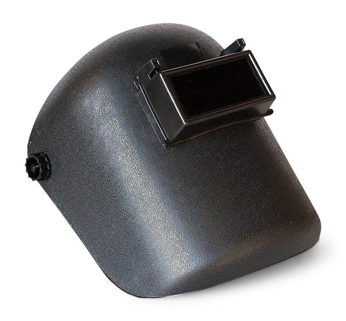 Welding Mask - Welders Helmet with Flip Front and Adjustable Rear Strap Accessories - Welder Hood