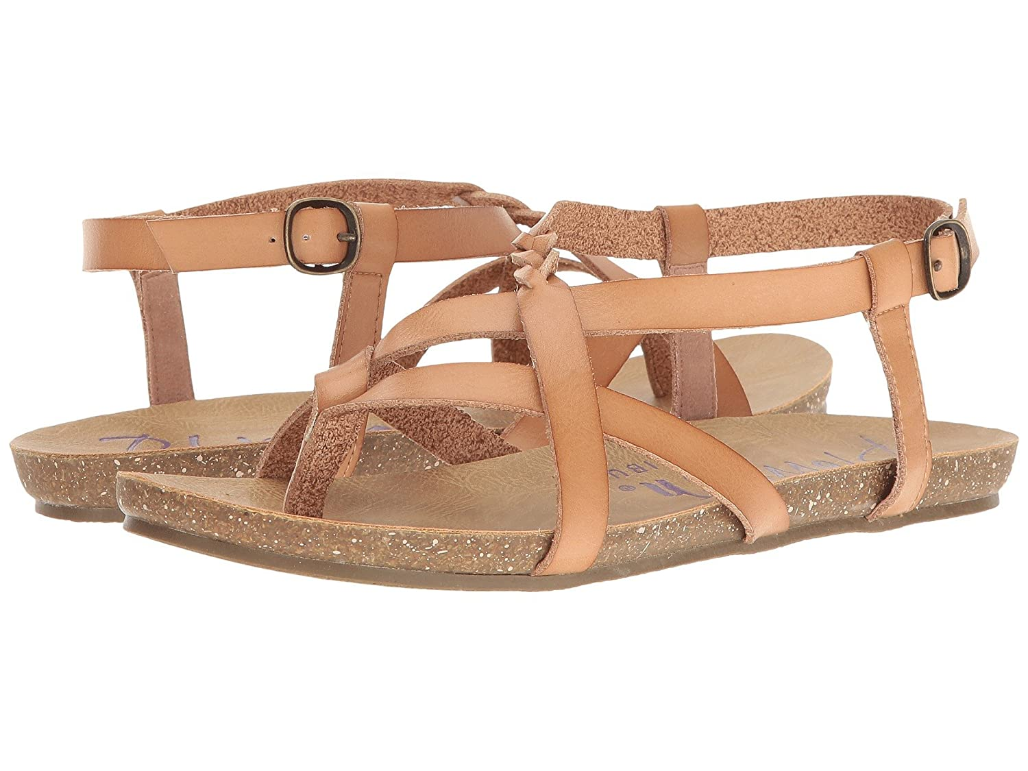 Blowfish Women's Granola Fisherman Sandal B07B44N69H 37-38 M EU / 7 B(M) US|Nude Dyecut