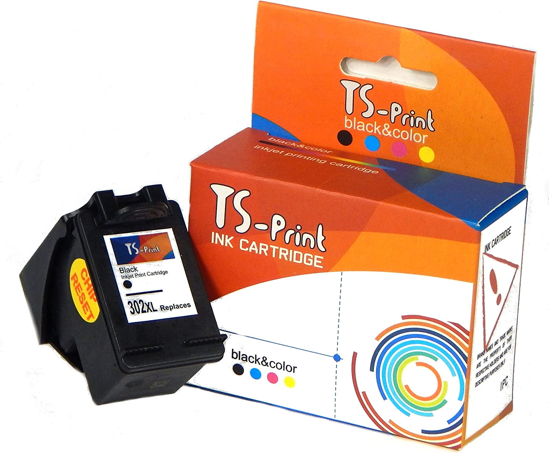 TS Print Cartucho de Tinta 302XL Negro para HP Deskjet 1110 2130 ...