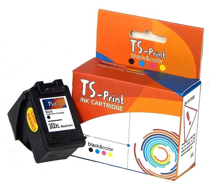 TS-Print Cartuchos de Tinta HP 302XL Impresora Deskjet 1110 2130 2132 3630 3635 Envy 4511 4512 4516 4520 4521 4522 4523 4524 4525 Officejet 3830 3831 ...
