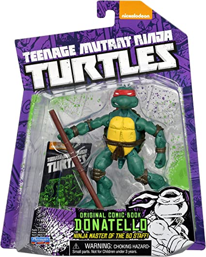 Amazon Com Teenage Mutant Ninja Turtles Comic Book Donatello