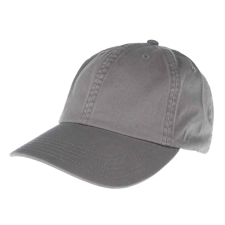 d12236bed56ab Amazon.com  Champion - Washed Twill Dad Cap - CS4000 - Adjustable - Black   USTradeEnt