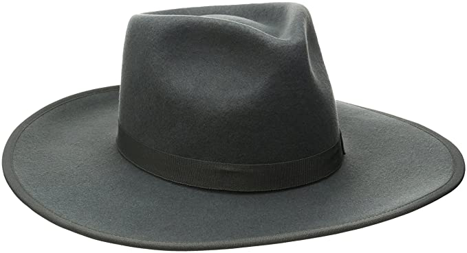 16c99ea239601 Amazon.com: Brixton Men's Homestead Fedora: Clothing