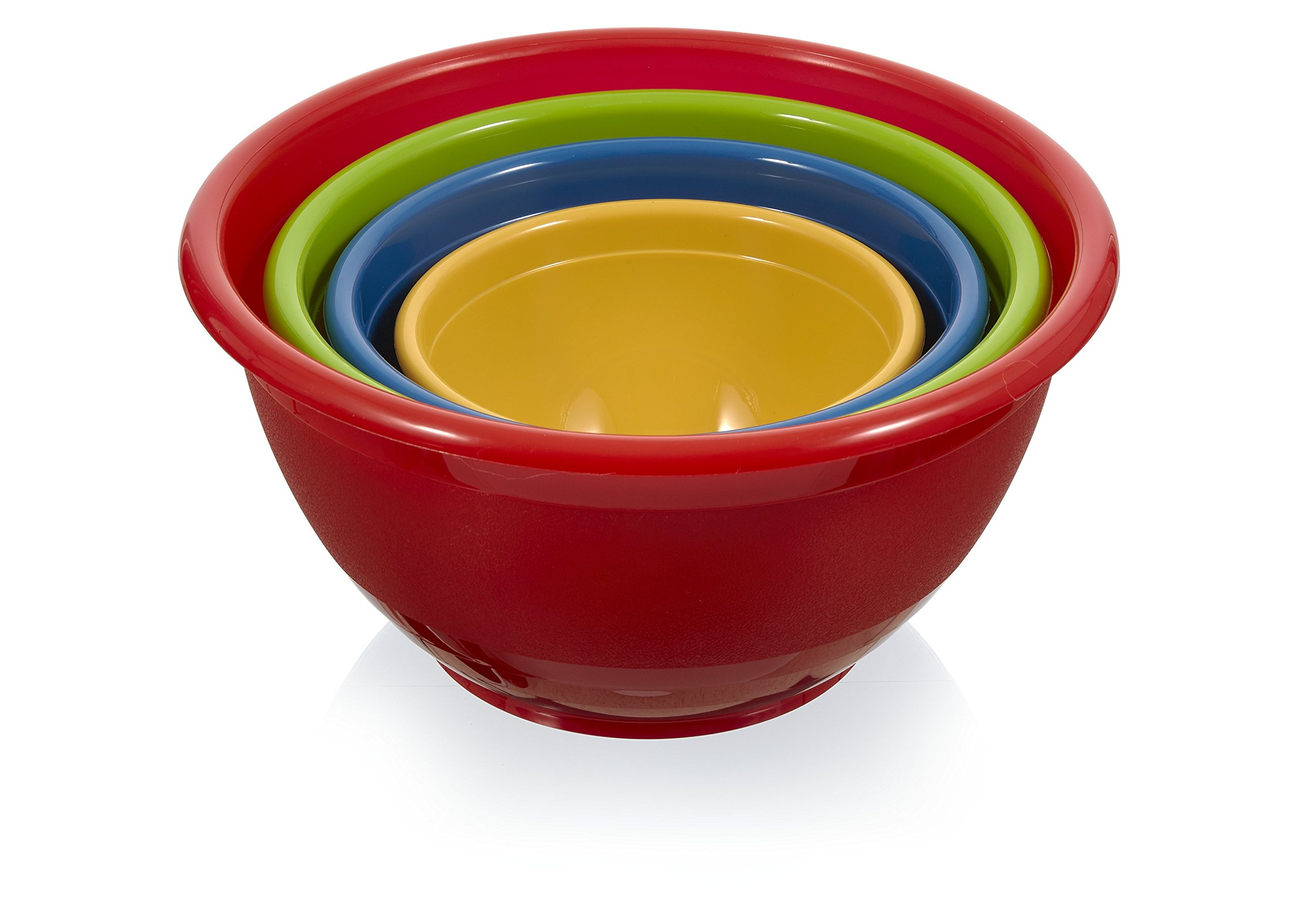 Arrow Home Products 00252 Mix and Serve Bowl Set, Assorted