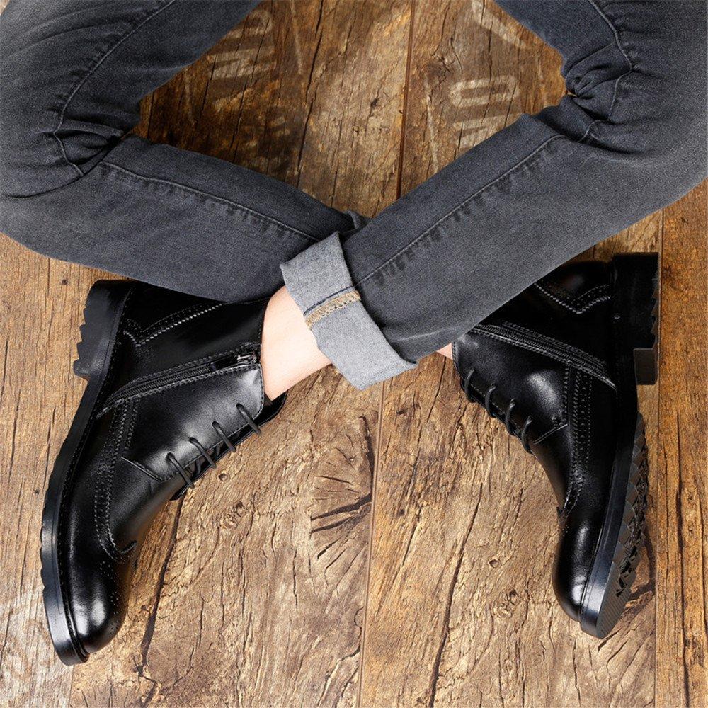 Männer - stiefel casual mode stiefel stiefel - lederstiefel uk,schwarz,38 657639