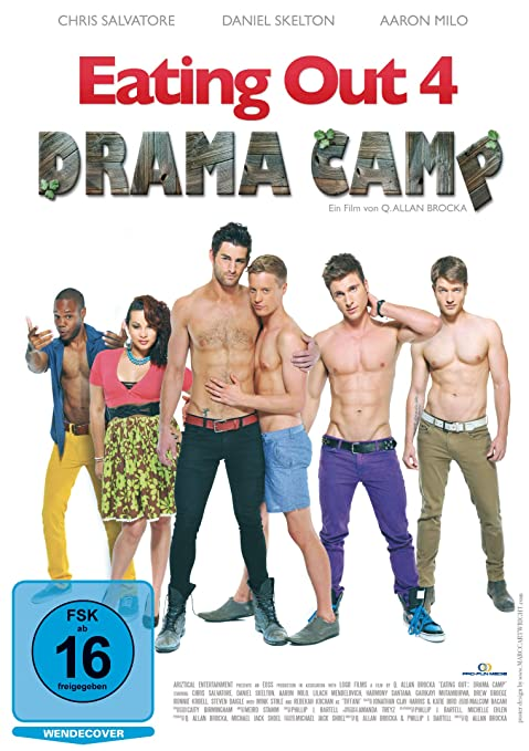 Eating Out 4 Drama Camp Alemania Dvd Amazon Es Chris Salvatore Rebekah Kochan Daniel Skelton Aaron Milo Ronnie Kroell Q Allan Brocka Chris Salvatore Rebekah Kochan Cine Y Series Tv