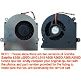 TOSHIBA Satellite A505-S6965 OEM Laptop CPU Cooling FAN V000180300