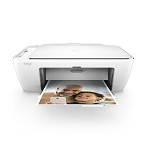 HP DeskJet 2655 All-in-One Compact Printer, HP Instant Ink & Amazon Dash Replenishment ready - White (V1N04A)