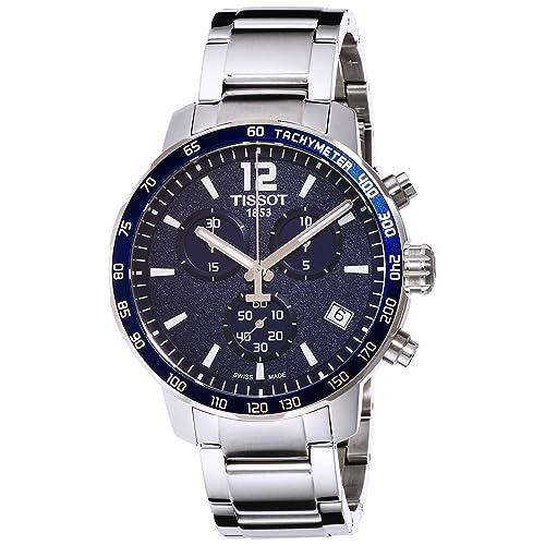 Tissot Mens T0954171104700 Quickster Blue Watch