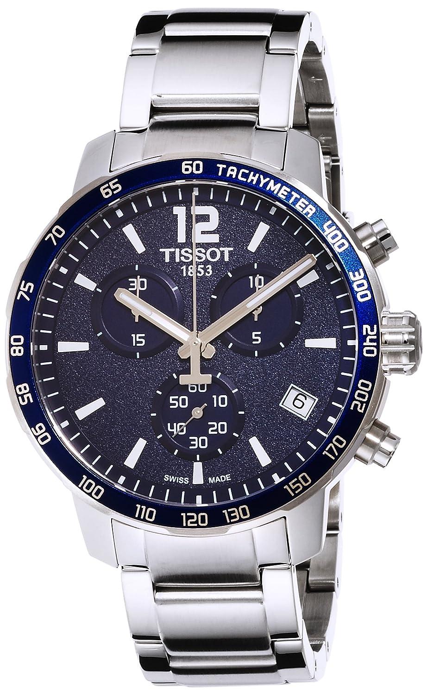 f1f80035fcb Amazon.com: Tissot Men's T0954171104700 Quickster Blue Watch: Tissot:  Watches