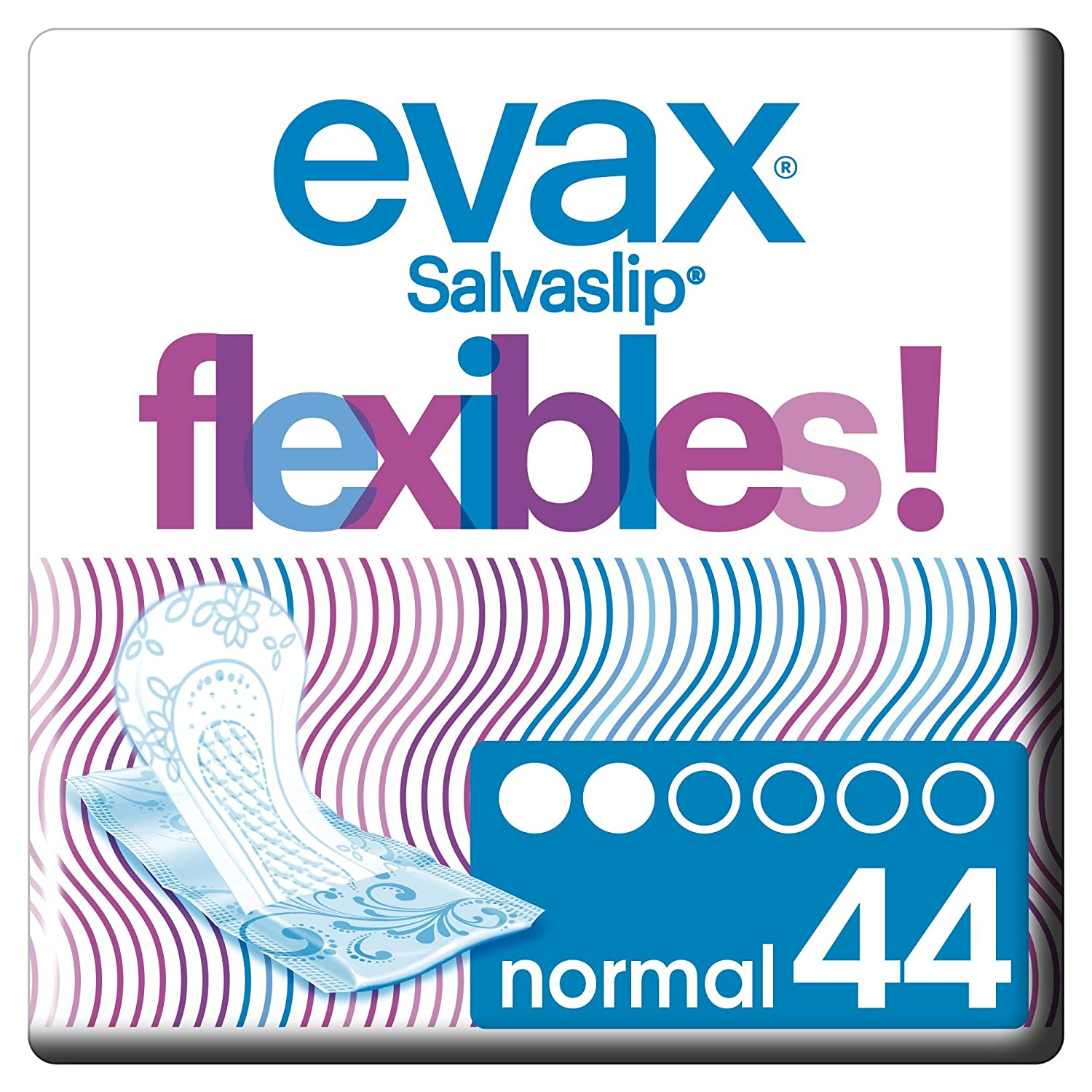 Evax salvaslip  –   Towels Flexible  –   44  units Procter & Gamble 4015400724766