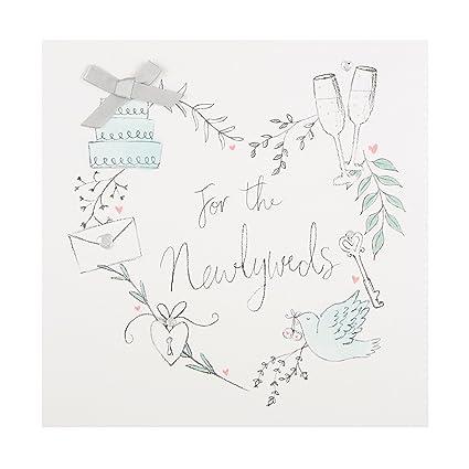 Hallmark 25489048 - Tarjeta de felicitación de boda para ...