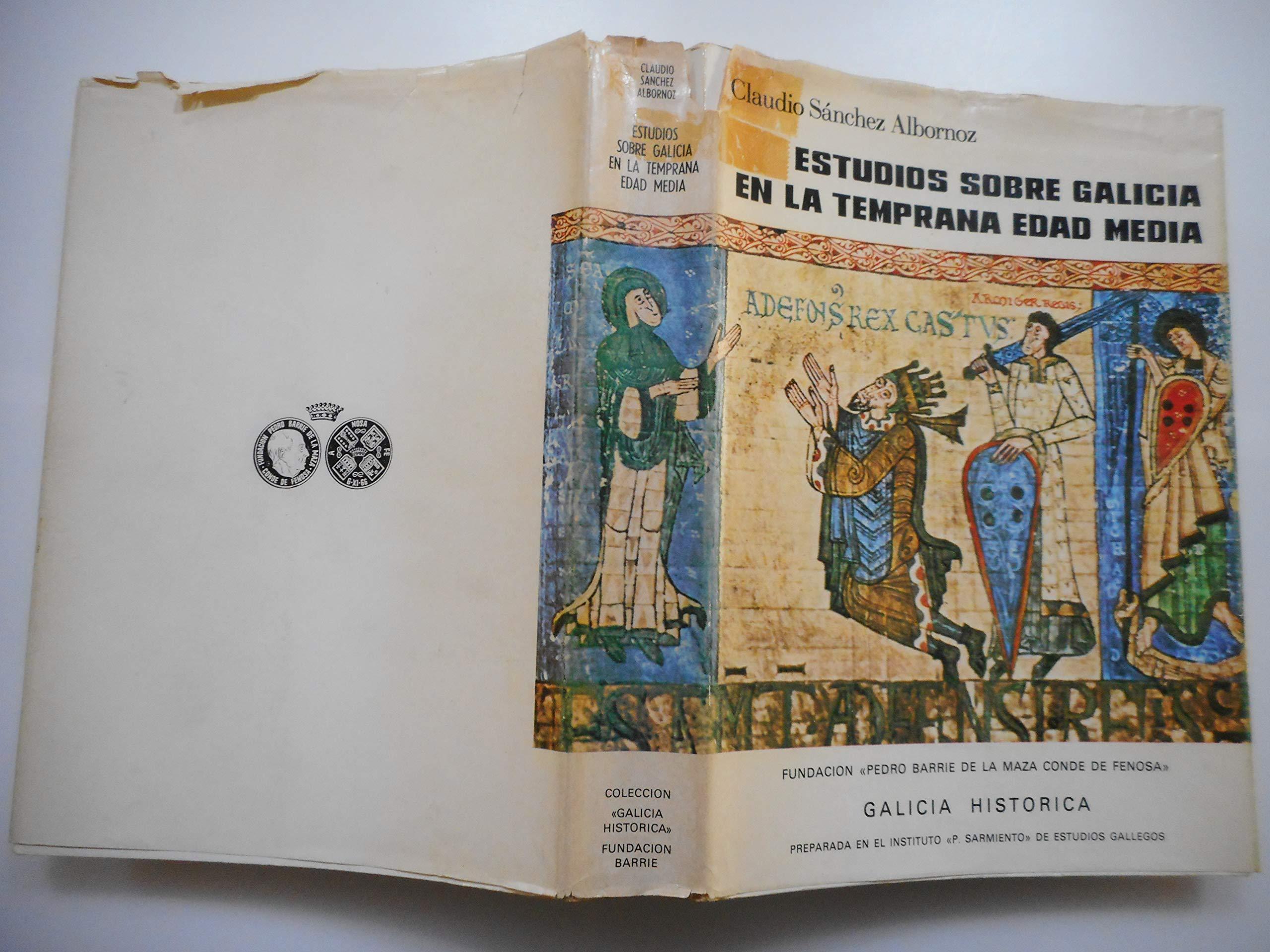 Amazon.com: Estudios sobre Galicia en la temprana Edad Media ...