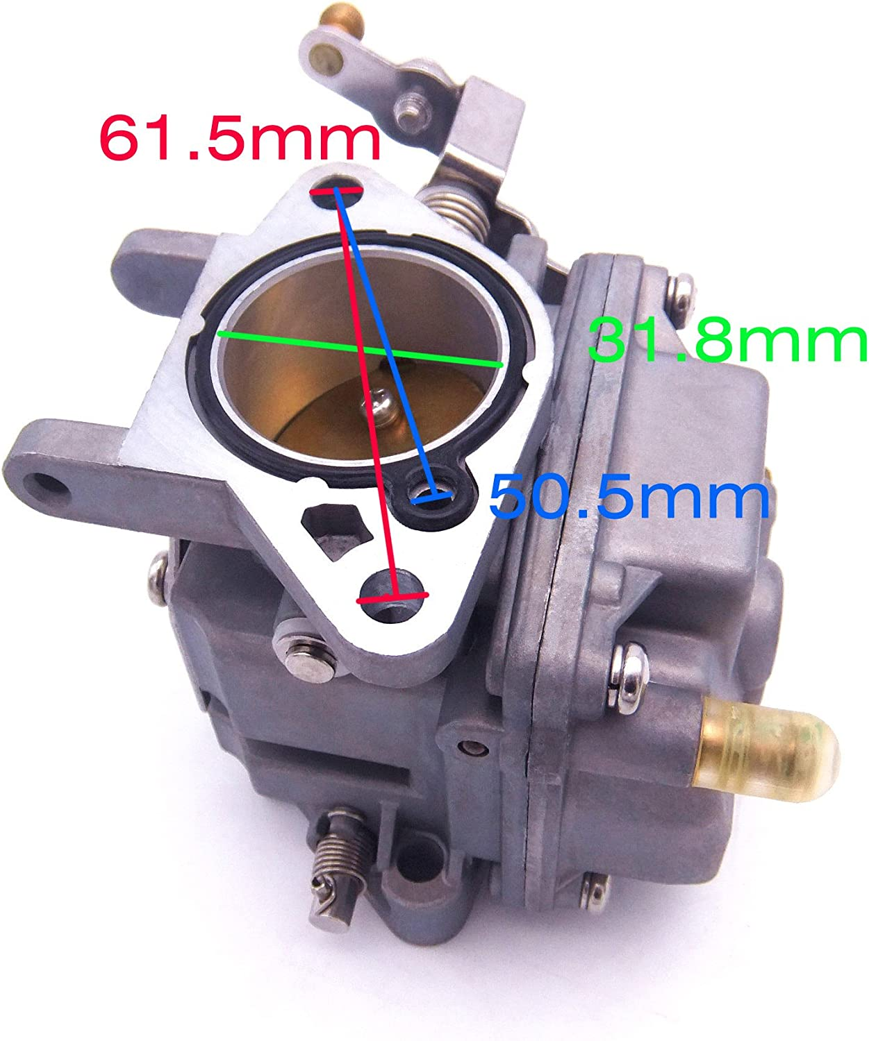69P-14301 Carburetor For YAMAHA 25HP 30HP NEW Model Outboard Engine 69P 61S