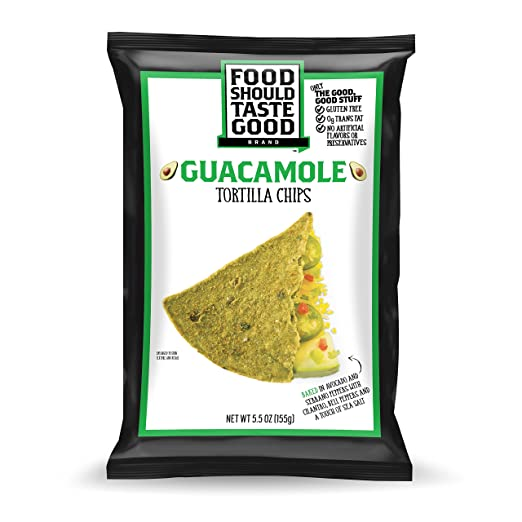Food Should Taste Good, Tortilla Chips, Guacamole, Gluten Free Chips,