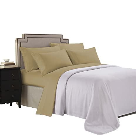 Paarizaat PZ Ten 03TN 4 Piece Organic Tencel Bed Sheet Set, Queen,