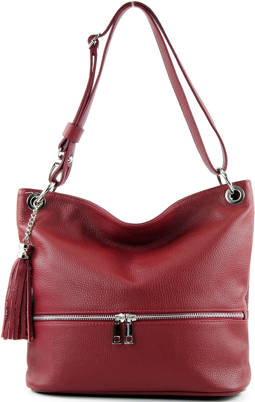 modamoda de -. Ital signore borsa in pelle tracolla borsa tracolla in pelle borsa T143 Porpora