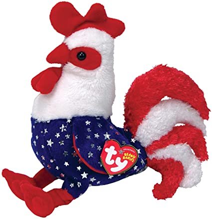 c31864b46dc Amazon.com  Ty Beanie Babies Homeland Rooster  Toys   Games