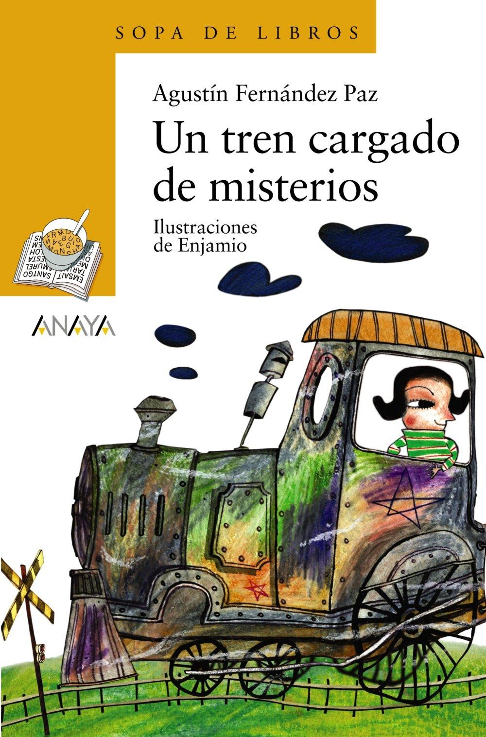 Un tren cargado de misterios (Spanish Edition): Agustin Fernandez Paz, Luis Castro Enjamio: 9788466736886: Amazon.com: Books