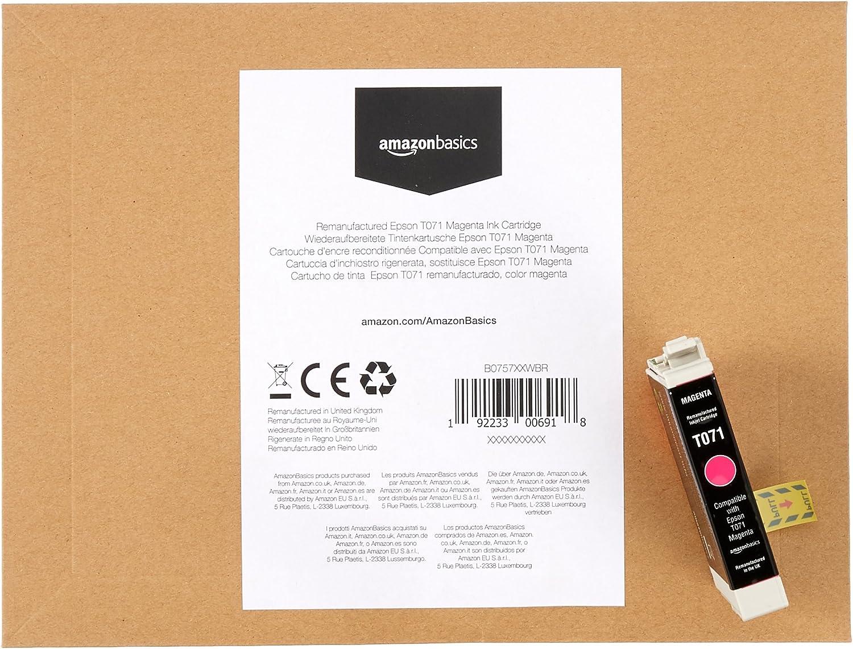 magenta Basics Epson T071 Cartucho de tinta regenerado