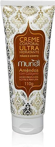 Creme Corporal Ultra Hidratante Amêndoa com Colágeno 110g, Muriel