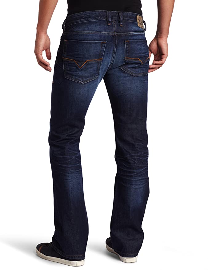25d2abee Diesel Men's Zatiny Regular Bootcut Jean 0073N, Denim, 26x32 at Amazon  Men's Clothing store: Pantalones Diesel