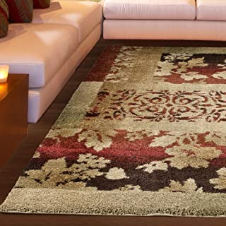 "product image for Orian Rugs Wild Weave Ogletree Rouge Area Rug, 5'3"" x 7'6"", Red"