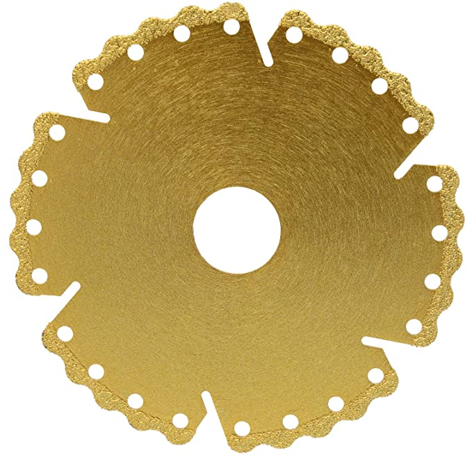 Disco de corte de diamante ladrillo segmento abierto para hormig/ón disco de corte de diamante universal cristal laminado 115 mm de di/ámetro madera