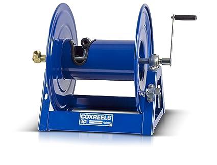 Coxreels 1125 4 100 Steel Hand Crank Hose Reel, 1/2u0026quot;