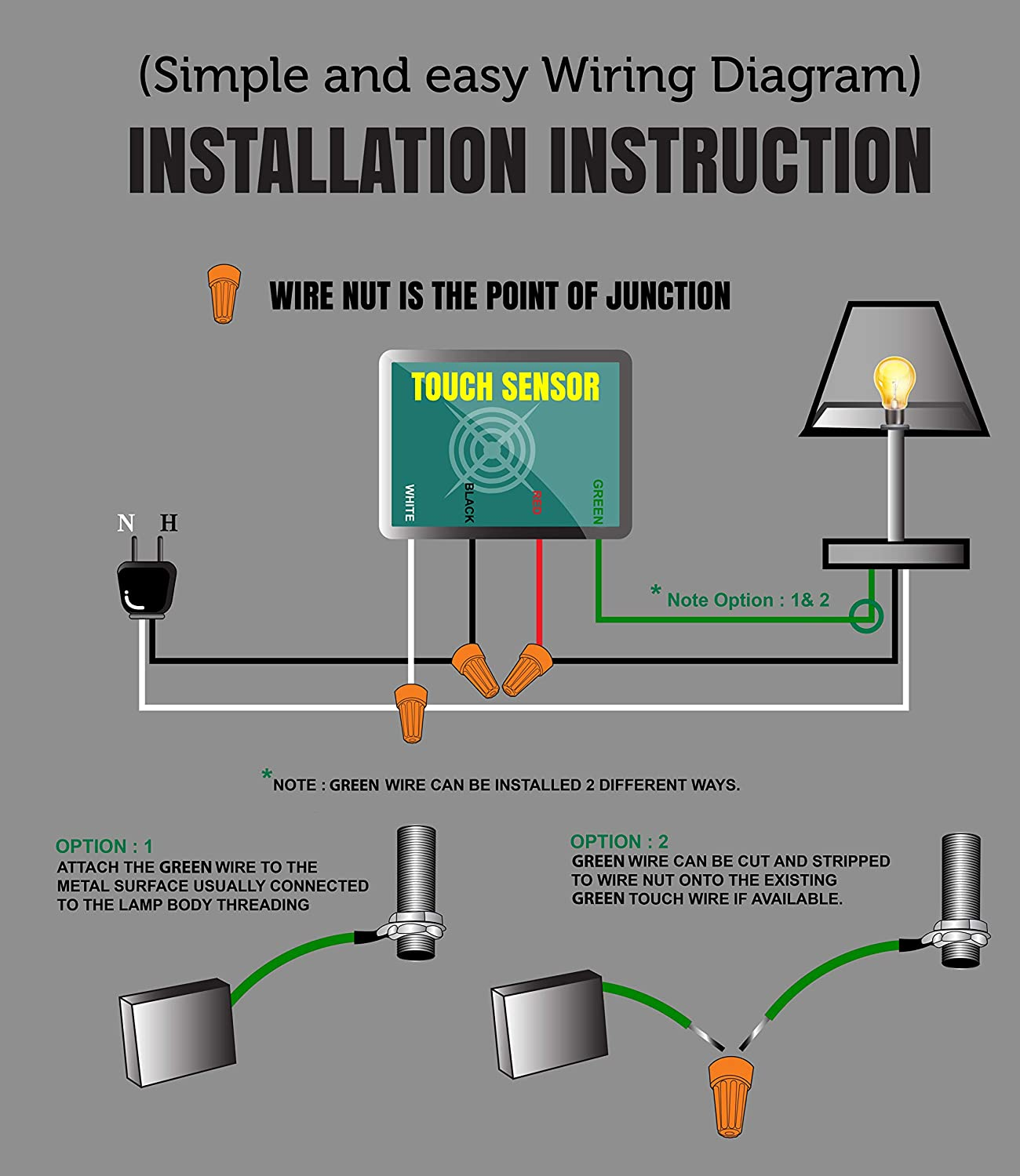 Yard Light Sensor Wiring Diagram