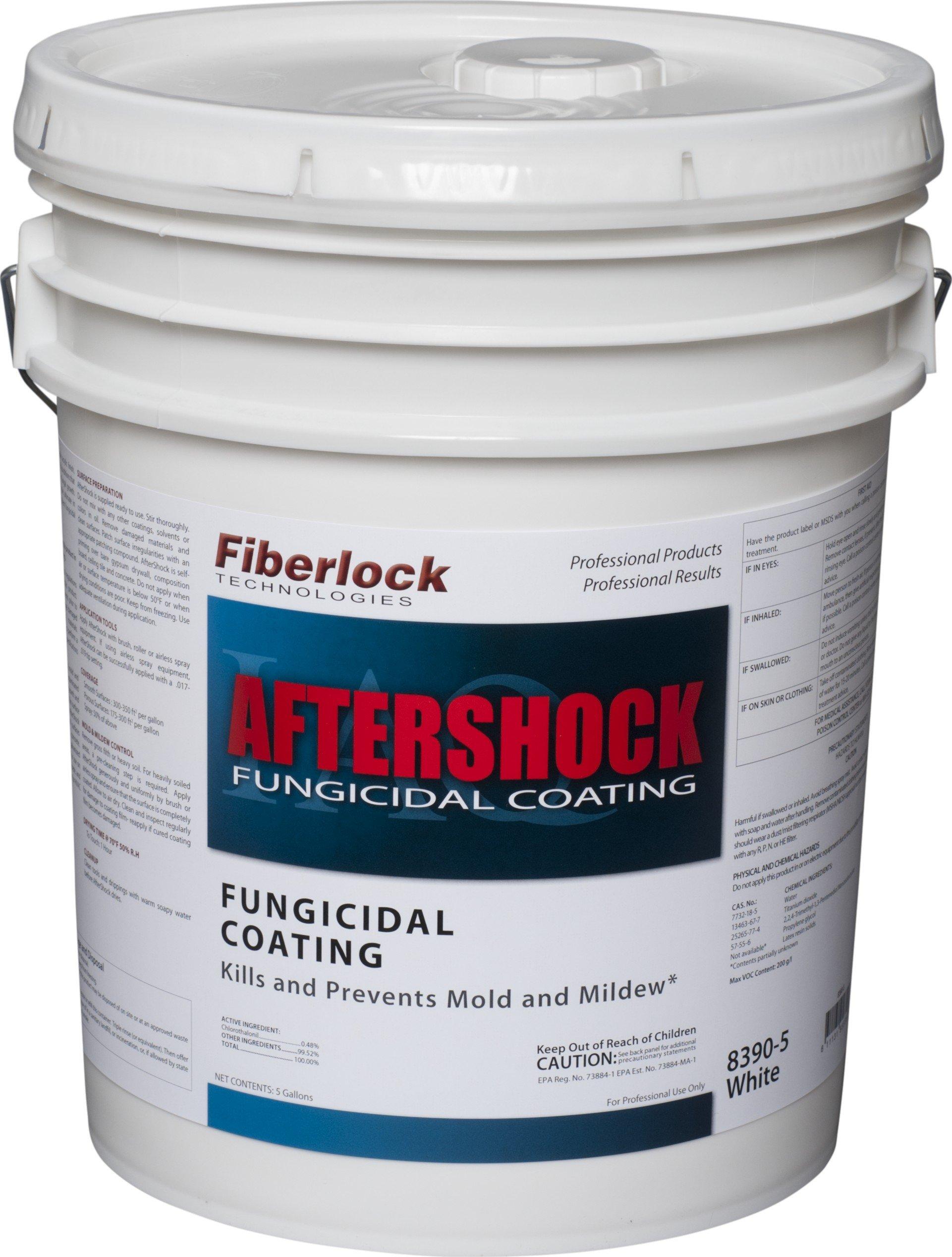 Fiberlock - Aftershock - EPA Registered Fungicidal Coating - 5 Gallon Pail - 8390