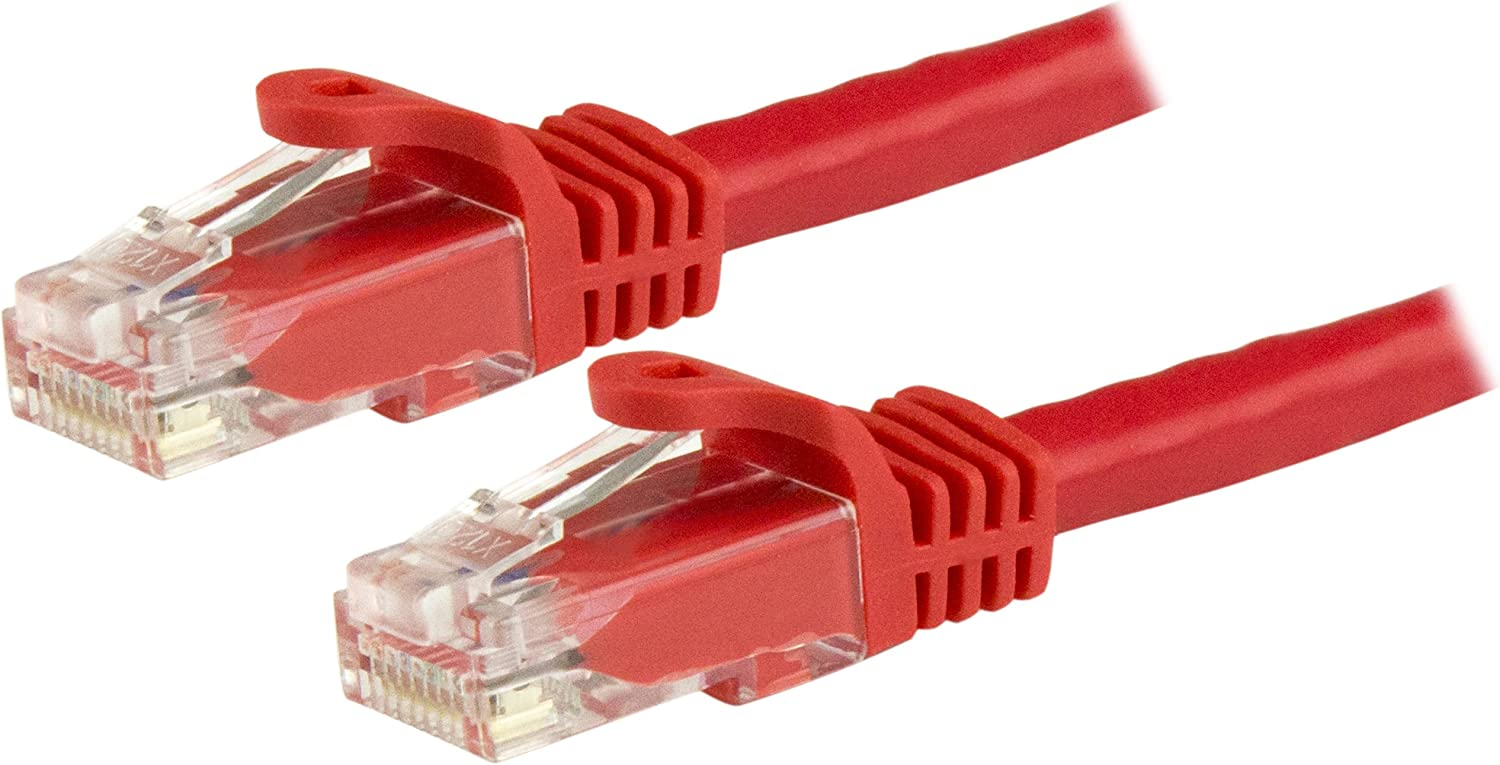 Blue Professional Series 1Gbps Network//Internet Cable 350MHZ BoltLion BL-692690 Snagless Cat5e RJ45 Ethernet Cable 2 Feet 2 Pack