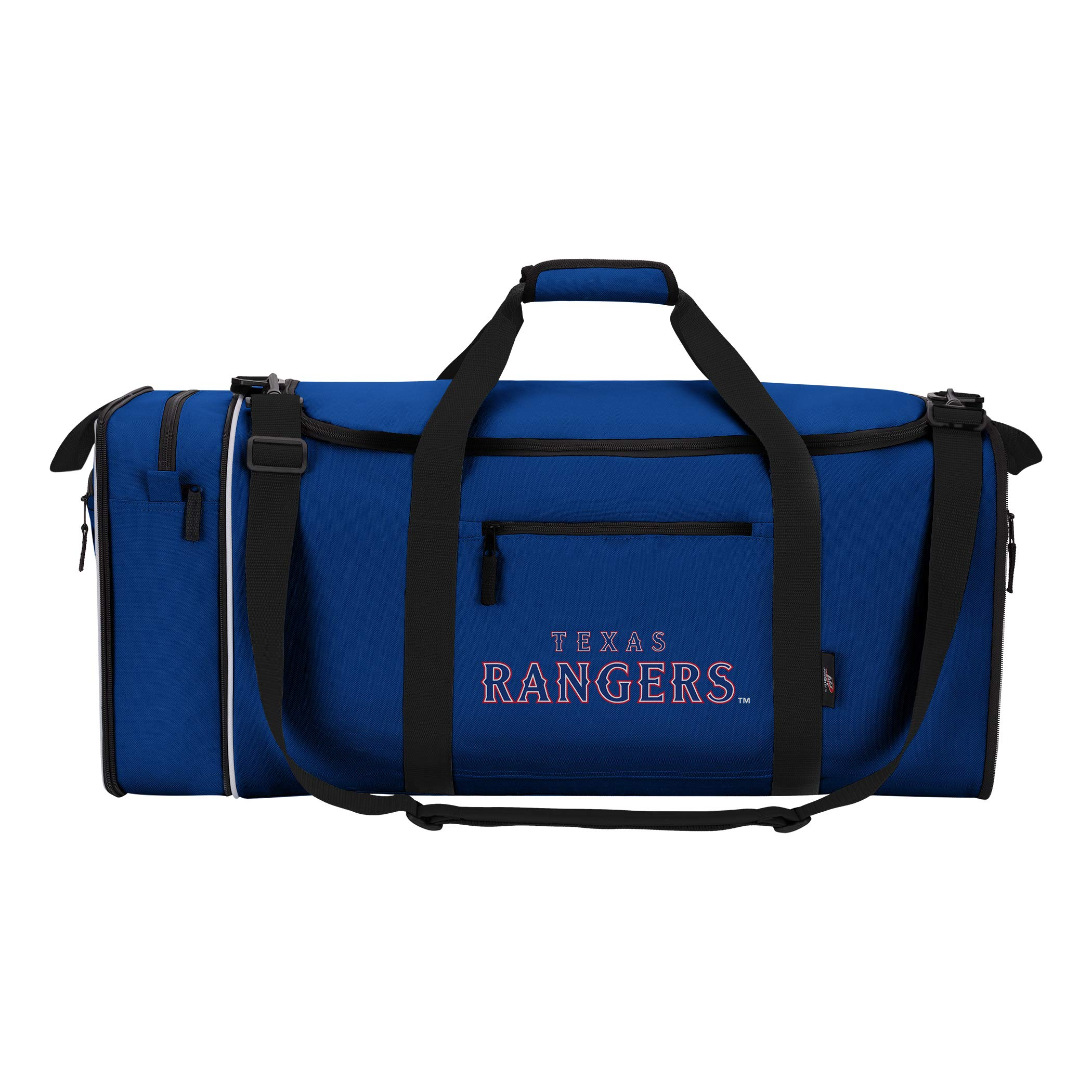 The Northwest Company Officially Licensed MLB Texas Rangers Steal Duffel Bag, 28'' x 11'' x 12''
