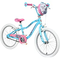 Schwinn Fille Brume Vélo, Bleu/Rose Enfants Fleur, 50,8cm de Roue (à partir de 6Ans)