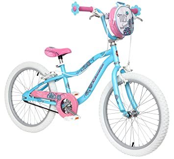 "c128c863c26 Schwinn Mist 20"" Wheel Girls Bike, Blue and Pink with Kids Flower  Design ("