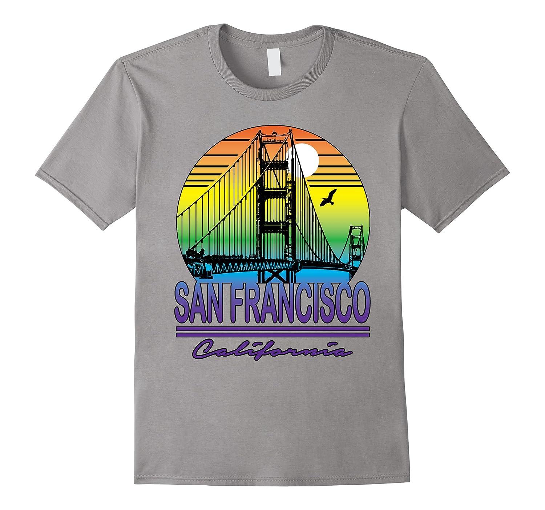 California San Francisco T-shirt Cali Life Home State-PL